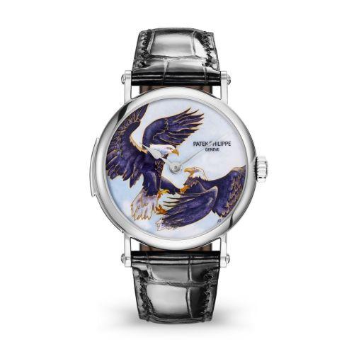 Patek Philippe 5538G-010 : Tourbillon Minute Repeater 5538 Eagles in Flight