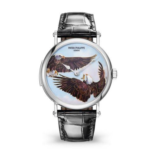 Patek Philippe 5538G-011 : Tourbillon Minute Repeater 5538 Eagles in Flight