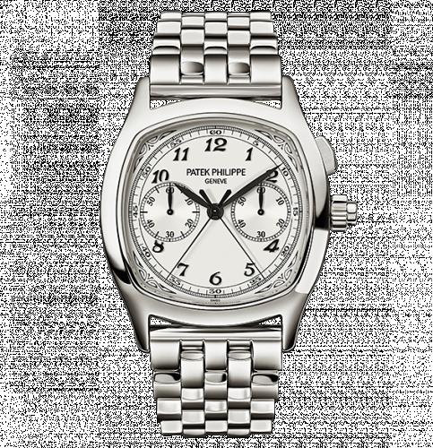 Patek Philippe 5950/1A-001 : Split-Seconds Chronograph 5950 Stainless Steel / Silver / Bracelet