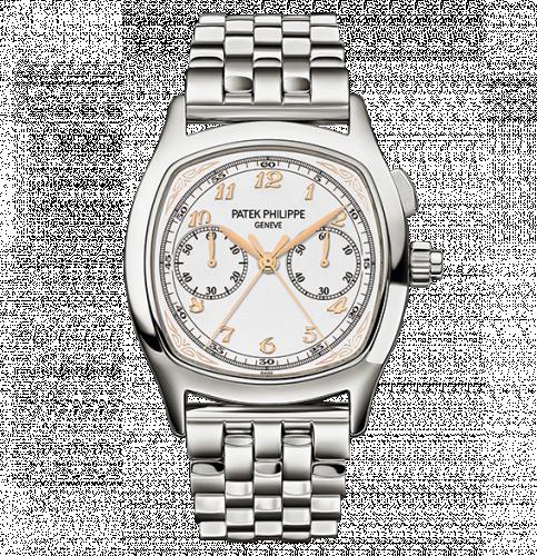 Patek Philippe 5950/1A-013 :  Split-Seconds Chronograph 5950 Stainless Steel / Silver / Bracelet