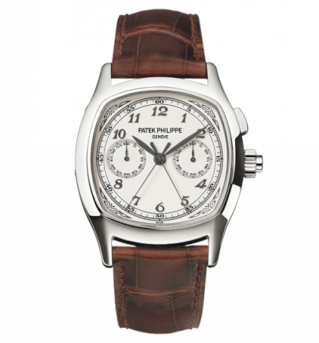 Patek Philippe 5950A-001 : Split-Seconds Chronograph 5950 Stainless Steel / Silver