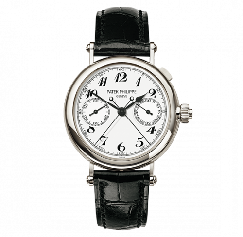 5959P-001 : Patek Philippe Split-Seconds Chronograph 5959 Platinum / White