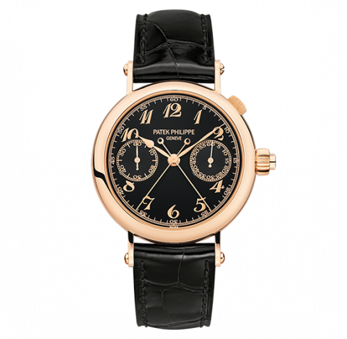 5959R-001 : Patek Philippe Split-Seconds Chronograph 5959 Rose Gold / Black