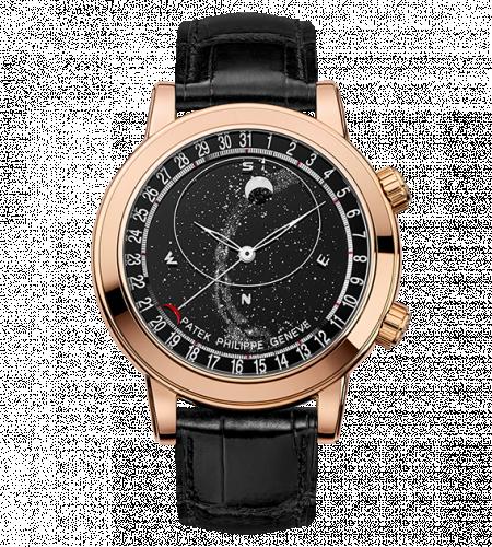 6102R-001 : Patek Philippe Celestial 6102 Rose Gold / Black