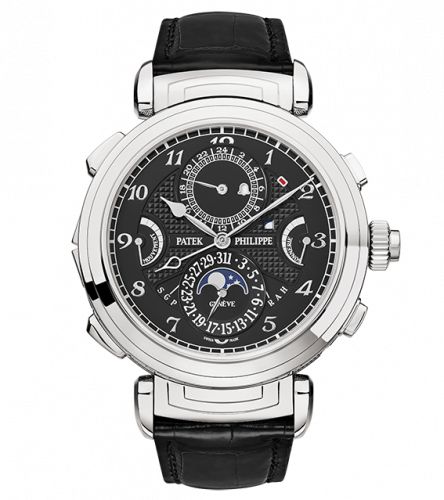 Patek Philippe 6300G-001 : Grandmaster Chime 6300 White Gold / Black