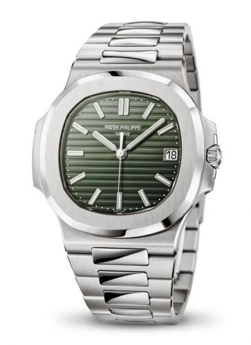 Patek Philippe 5711/1A-014 : Nautilus 5711 Stainless Steel / Green