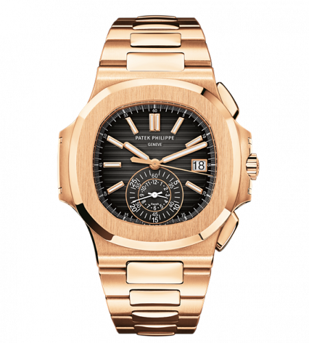 Patek Philippe 5980/1R-001 : Nautilus 5980 Rose Gold / Black