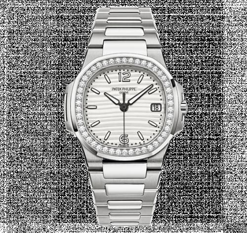 7010/1G-011 : Patek Philippe Nautilus 7010 White Gold / Silvery White