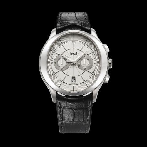 Piaget G0A38112 : Gouverneur Chronograph White Gold