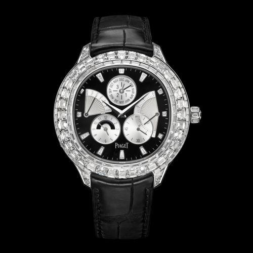 G0A37020 : Piaget Emperador Coussin Perpetual Calendar White Gold Diamond Black