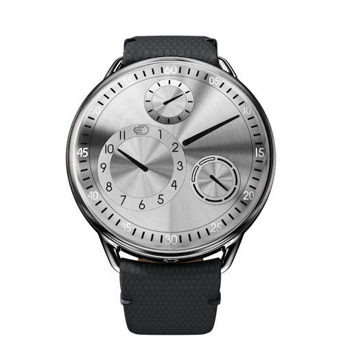 Ressence Type 1S : Type 1 Silver