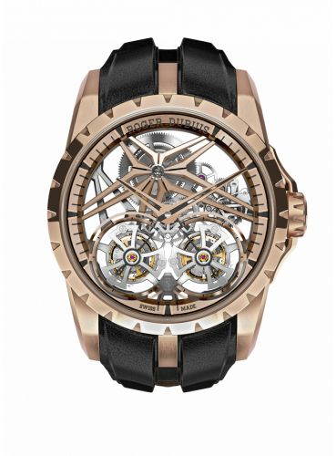Roger Dubuis DBEX0920 : Excalibur Double Flying Tourbillon Rose Gold / Pink