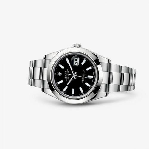 116300-0001 : Rolex Datejust II Black