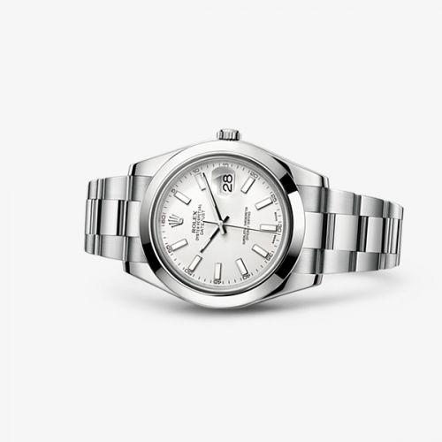 116300-0003 : Rolex Datejust II White