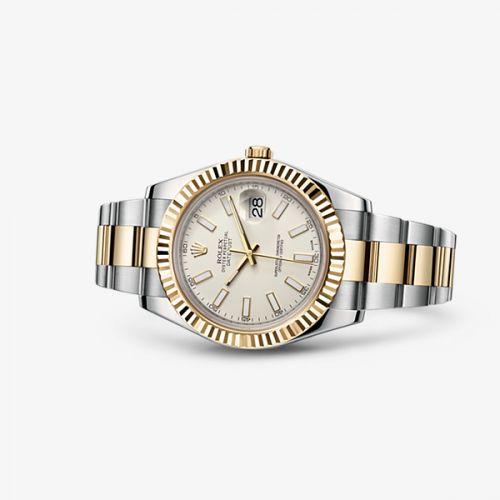 116333-0005 : Rolex Datejust II Rolesor Ivory