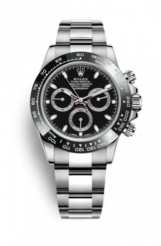 Rolex 116500ln-0002 : Cosmograph Daytona Steel / Cerachrom / Black