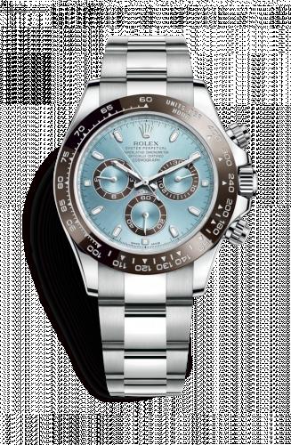 116506-0001 : Rolex Cosmograph Daytona Platinum / Cerachrom / Ice Blue