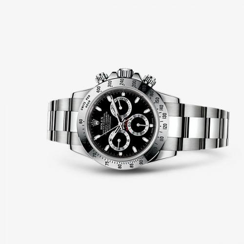 116520-0015 : Rolex Cosmograph Daytona Steel / Black