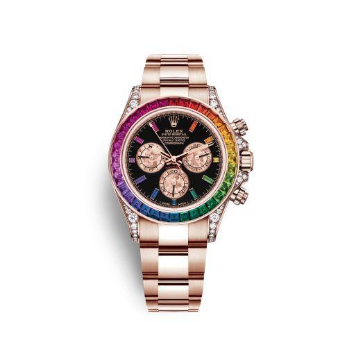 Rolex 116595RBOW-0001 : Cosmograph Daytona Everose / Rainbow