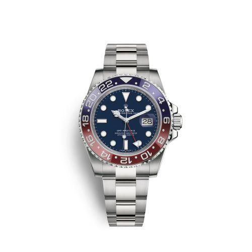 Rolex 116719BLRO-0002 : GMT-Master II White Gold / BLRO