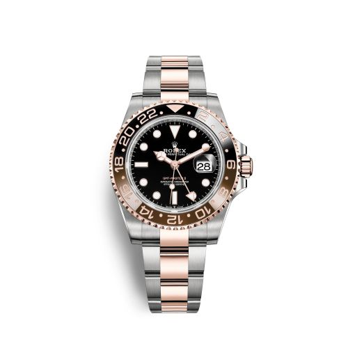 Rolex 126711CHNR-0002 : GMT-Master II Stainless Steel / Everose / CHNR / Oyster