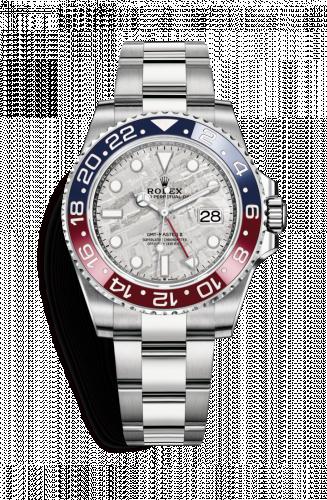 Rolex 126719BLRO-0002 : GMT-Master II White Gold / BLRO / Meteorite