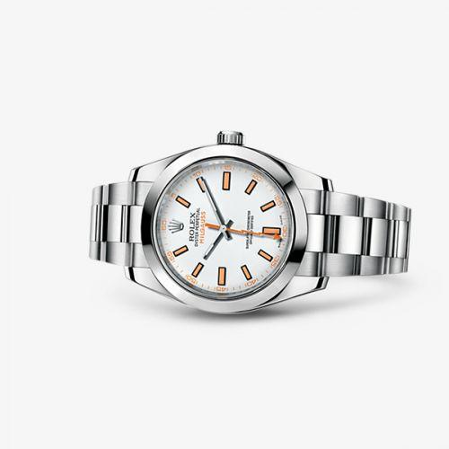 Rolex 116400-0002 : Milgauss White
