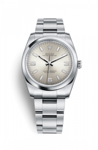 Rolex 114200-0019 : Oyster Perpetual 34 Silver Explorer