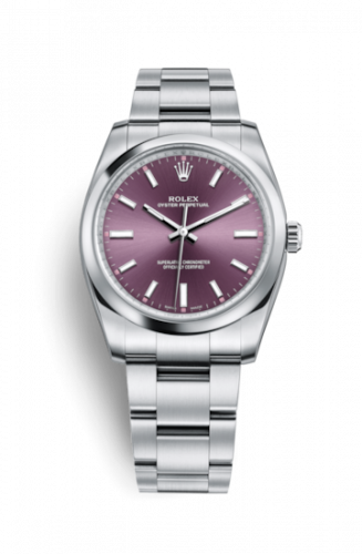 Rolex 114200-0020 : Oyster Perpetual 34 Red Grape