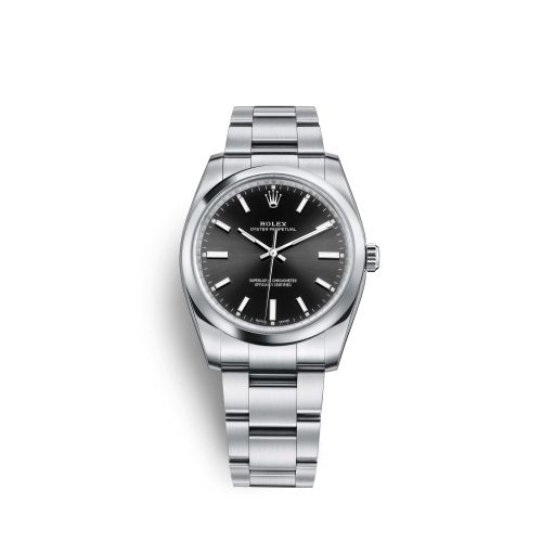 Rolex 114200-0023 : Oyster Perpetual 34 Black