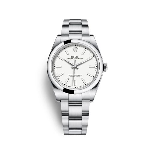 Rolex 114300-0004 : Oyster Perpetual 39 White