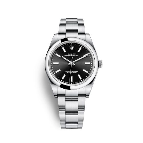 Rolex 114300-0005 : Oyster Perpetual 39 Black