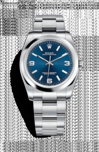 116000-0002 : Rolex Oyster Perpetual 36 Blue Explorer