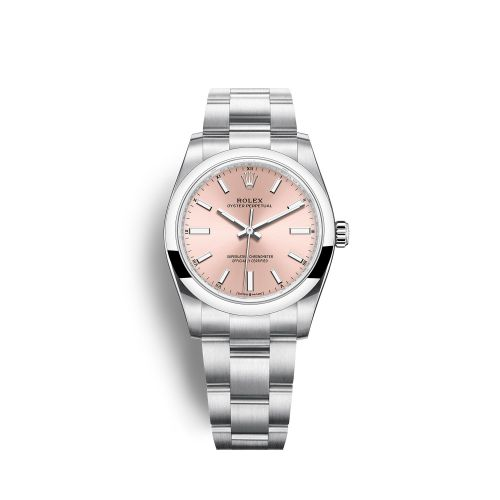 Rolex 124200-0004 : Oyster Perpetual 34 Stainless Steel / Pink