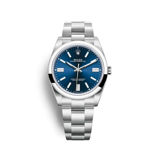 Rolex 124300-0003 : Oyster Perpetual 41 Stainless Steel / Blue