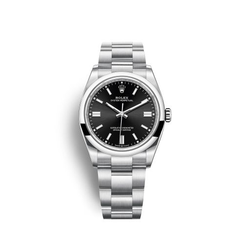 Rolex 126000-0002 : Oyster Perpetual 36 Stainless Steel / Black