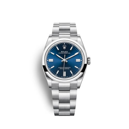 Rolex 126000-0003 : Oyster Perpetual 36 Stainless Steel / Blue