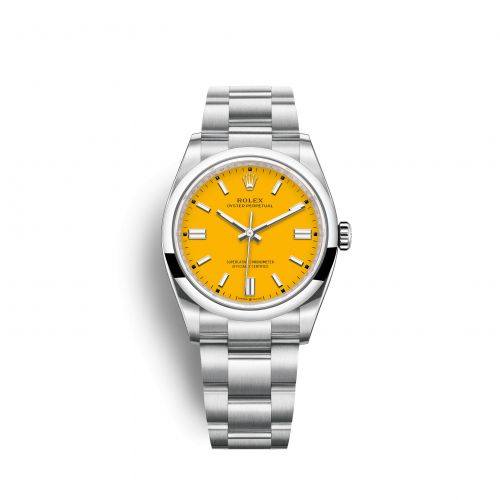 Rolex 126000-0004 : Oyster Perpetual 36 Stainless Steel / Yellow