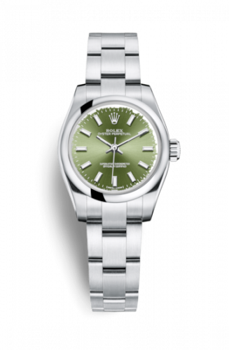 Rolex 176200-0014 : Oyster Perpetual 26 Olive Green