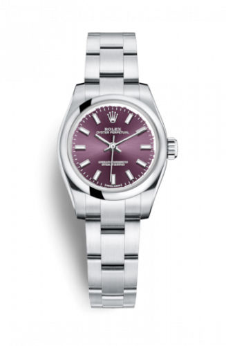 Rolex 176200-0016 : Oyster Perpetual 26 Red Grape