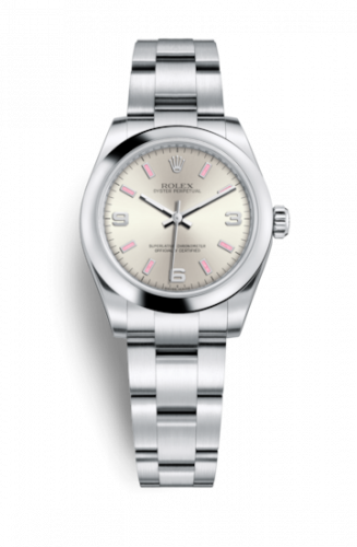 Rolex 177200-0009 : Oyster Perpetual 31 Silver Explorer