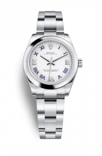 Rolex 177200-0016 : Oyster Perpetual 31 White Roman