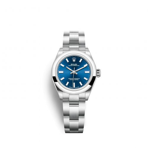 Rolex 276200-0003 : Oyster Perpetual 28 Stainless Steel / Blue