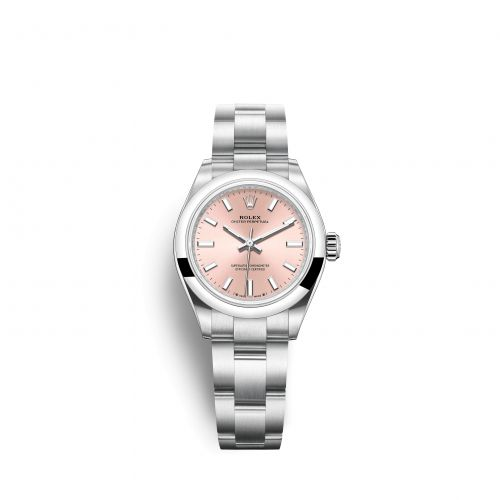 Rolex 276200-0004 : Oyster Perpetual 28 Stainless Steel / Pink