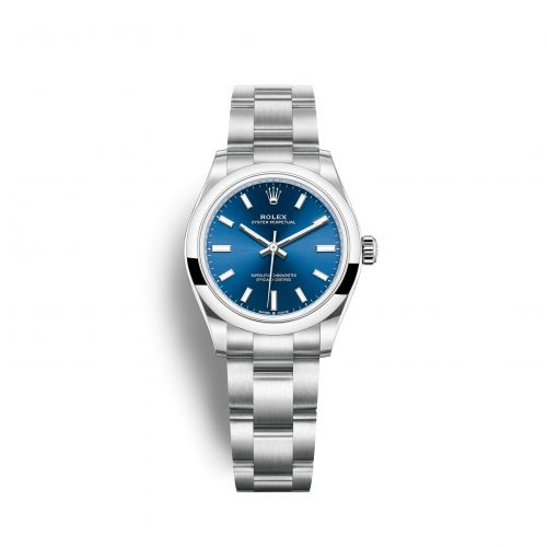 Rolex 277200-0003 : Oyster Perpetual 31 Stainless Steel / Blue