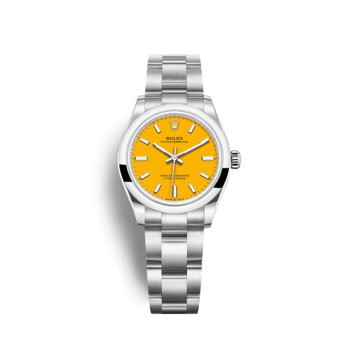 Rolex 277200-0005 : Oyster Perpetual 31 Stainless Steel / Yellow