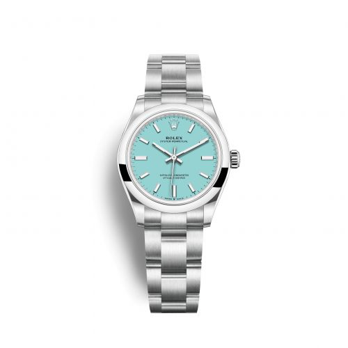 Rolex 277200-0007 : Oyster Perpetual 31 Stainless Steel / Turquoise