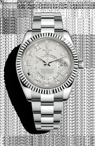 Rolex 326939-0001 : Sky-Dweller White Gold / Ivory