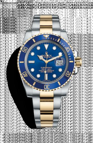 116613lb-0005 : Rolex Submariner Date Rolesor / Blue / Cerachrom