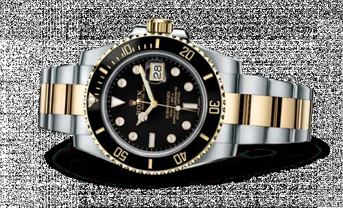 Rolex 116613LN - 0003 : Submariner Date Rolesor / Black-Diamond